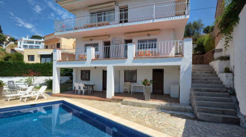 vente maison piscine costa brava espagne immobilier international