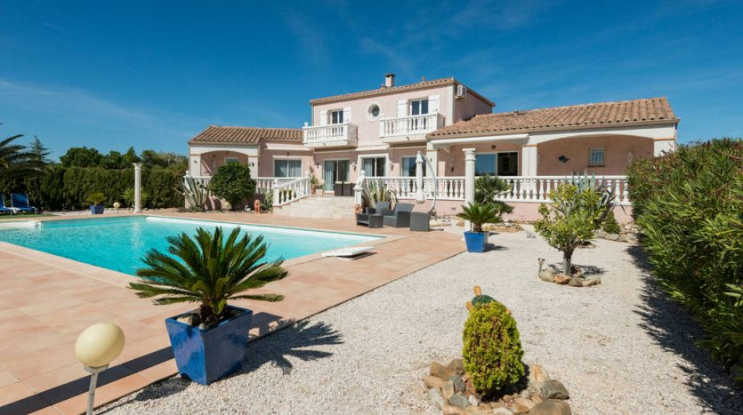 vente maison piscine paraza immobilier international
