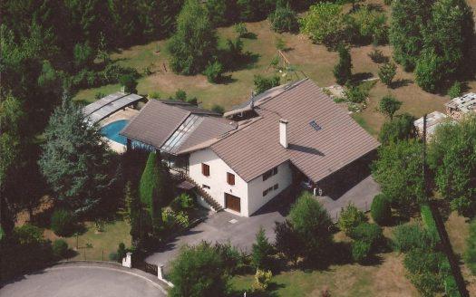 vente maison piscine Franclens haute savoie immobilier international