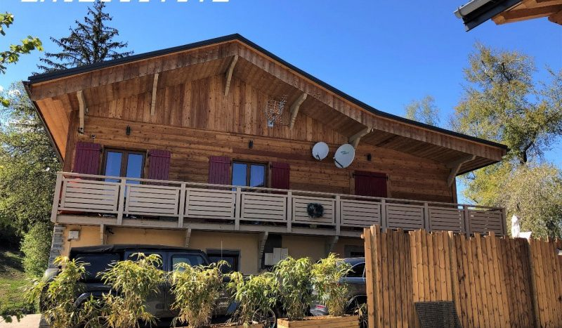 immobilier international combloux immovitrine vente chalet